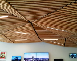 Massy - Heugas - OFFICE TOURISME 2015 BAYONNE plafonds à facettes