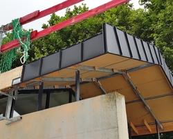 Massy - Heugas - OFFICE TOURISME 2015 BAYONNE Courverture zinc